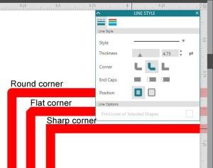 Corner copy