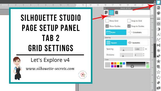 Page Setup Panel Tab 2 Header