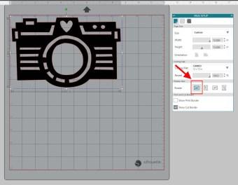 Rotate design mat - 0 degrees