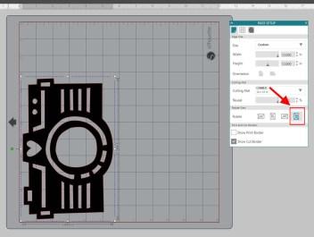 Rotate design mat - 270 degrees