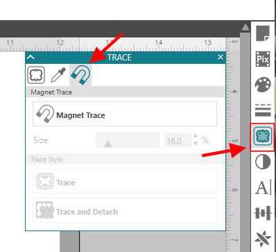 Magnet Trace Panel copy