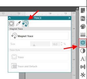 Magnet Trace Panel copy
