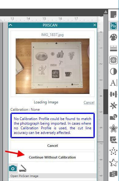 Pixscan no calibration copy
