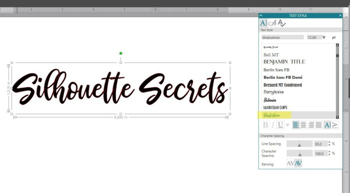 Font Style copy