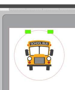 Bus centered