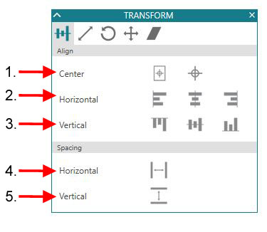 Transform Panel details copy