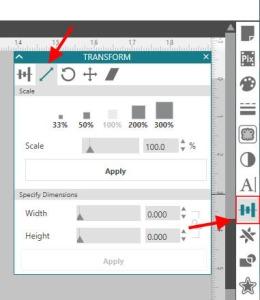 Scale tab copy