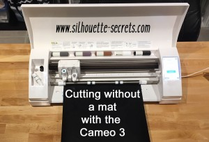 Cutting without a mat