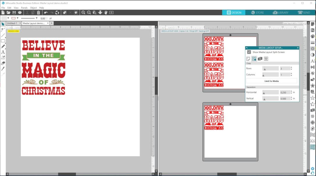 Copy rows