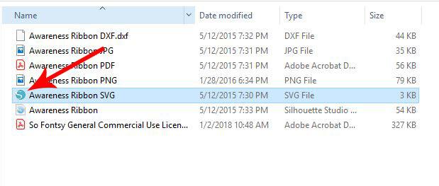 silhouette default program copy