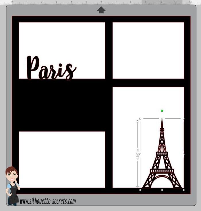 Eiffel tower copy