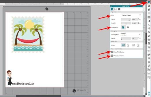Page Setup Panel copy