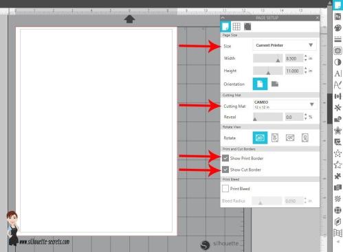 Project Page Setup copy
