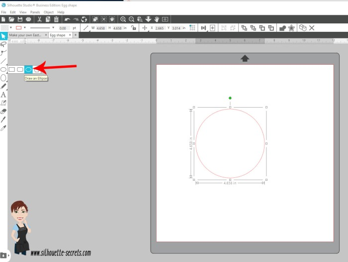 Draw Ellipse tool copy