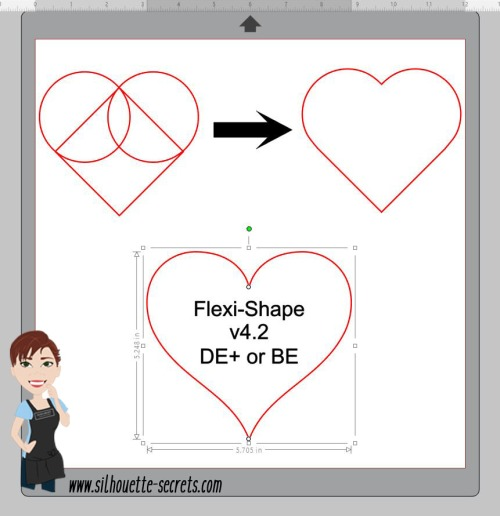 Heart shape copy