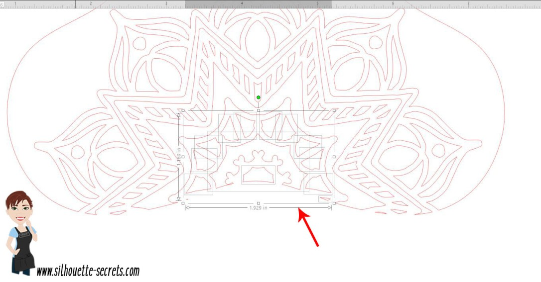 Lasso Tool Example selected copy