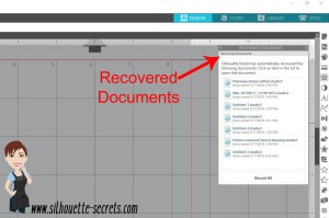 Recovered documents copy