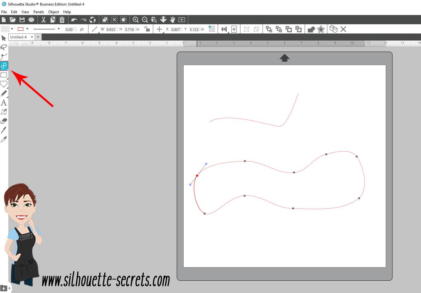 Draw Curved Shape copy