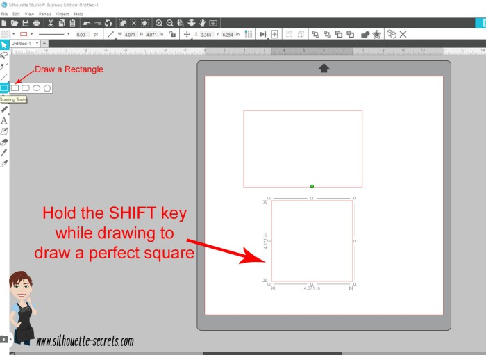 Draw rectangle copy