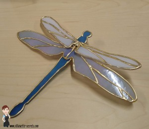 Faux Stained Glass dragonfly copy