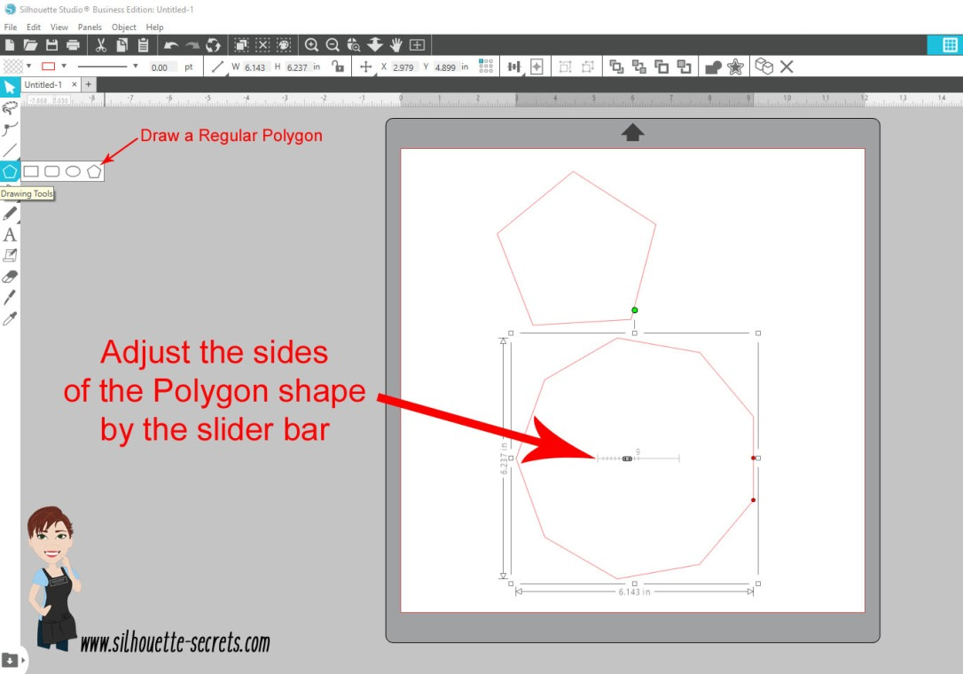 Regular Polygon tool copy