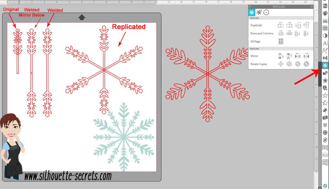 Snowflake 2nd arm copy