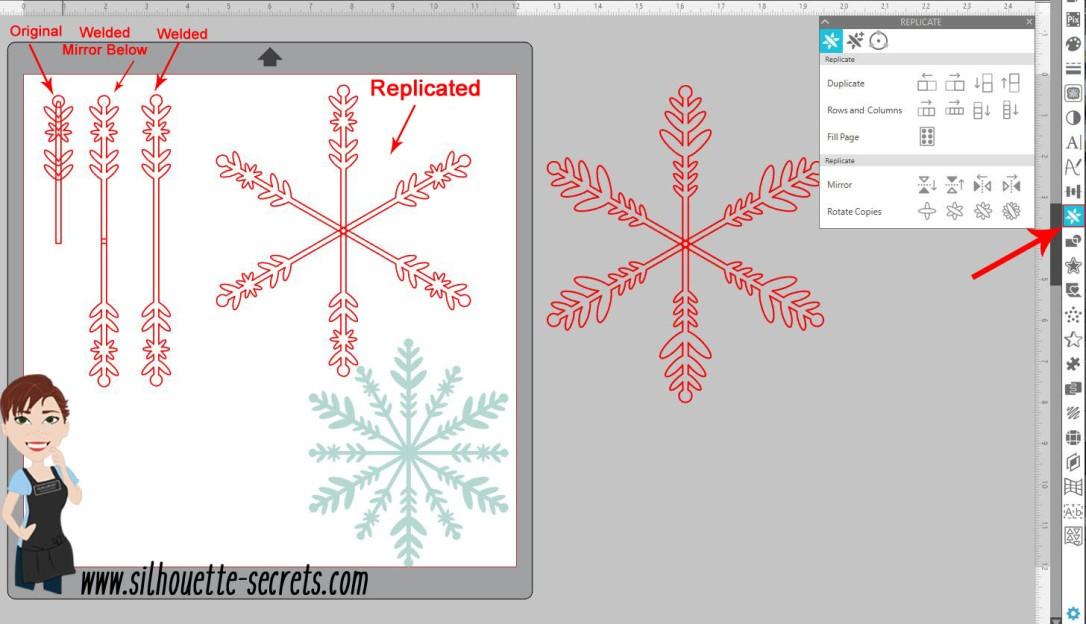 Snowflake 2nd arm copy