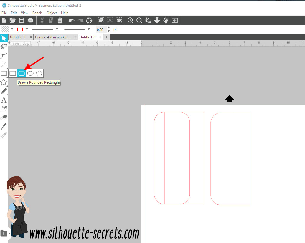 Drawing rounded rectangle copy