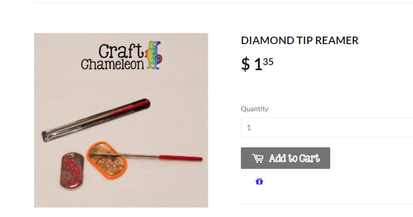 Diamond Tip Reamer