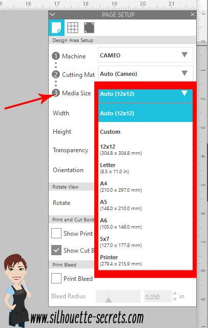 Media Size copy