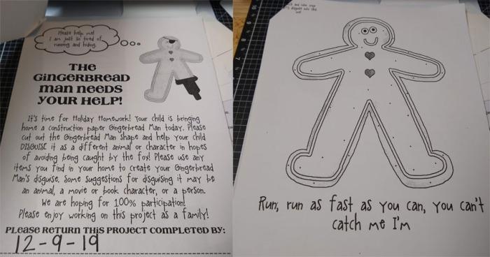 Gingerbread homework copy