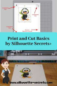 Print and Cut Basics Pin