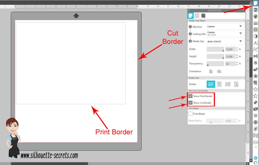 12 x 12 page setup copy